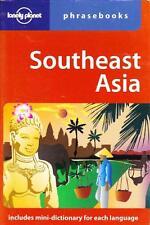 SOUTHEAST ASIA PHRASEBOOK LONELY PLANET TRAVEL BURMESE KHMER LAO THAI VIETNAMESE