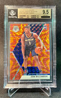 2019-20 Panini Mosaic ZION WILLIAMSON ORANGE PRIZM RC BGS 9.5 w/10 GEM PSA10? 📈