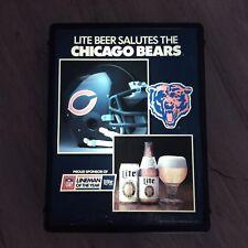 Chicago Bears 1985 SB XX Champion Miller Lite Light Up Sign Lineman Of The Year