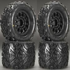 "Pro-Line 1198-13 Big Joe II 3.8"" Mounted Tires / Wheels (4) T-Maxx Summit E-Revo"