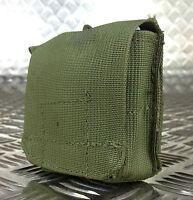 IDF Military Tactical Ammo / Ammunition Pouch. Web / Codura G1 - Olive Green