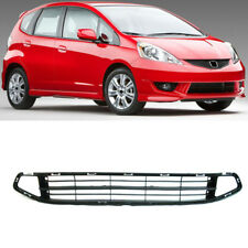 Front Bumper Grill Grille Air Intakes Retrofit for Honda Jazz GE6 GE8 2009-2011