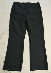 ACNE STUDIOS Men's Black Twill Bootcut Trousers Size IT 46 UK 36 Used Condition