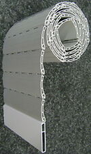 Rolladen Ersatz Lamellen Maßanfertigung PVC beige Breite 120 cm