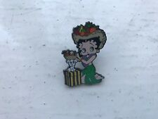 More details for danbury mint the betty boop pin enamel badge collection - tropical fruit vendor