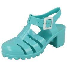 Calzado de niña sandalias azul sin marca