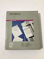 VINTAGE IBM SlideWrite Software CIB, manual and disks in great condition