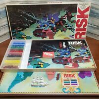 Parker Brother's Vintage Risk World Conquest Game 1975