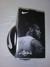 Nike Lebron James Full Size Basketball Retro Nike Swoosh Nba Collectible Ball