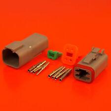 Deutsch DT Series 4 Pin Way Connector Male & Female Kit DT04-4P DT06-4S
