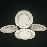"Set of 4 VTG Bread Plates 6"" by Royal Doulton Tiara Bone China H4915 England"