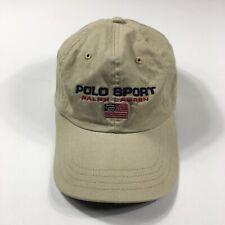 Men's Polo Ralph Lauren Polo Sport Cap Vintage Hat Casual Beige Size - One Size