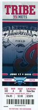 2010 Indians vs Mets Ticket: Jose Reyes 3 hits/ R.A. Dickey win