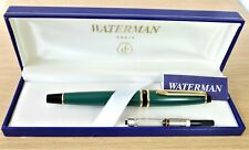 More details for waterman expert mk 1 in green.  a perfect, mint, boxed example.
