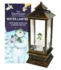 The Snowman LED Water Lantern Snow Globe Christmas Decoration Battery Operated