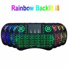 i8 Backlit Multi-Touch 2.4G Mini Wireless keyboard KODI Android PC PS3 / XBOX UK