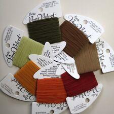 Rainbow Gallery petite Very Velvet Thread collection Autumn