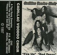CADILLAC VOODOO CHOIR Cassette Single Self Released Private Southern Rock RARE!