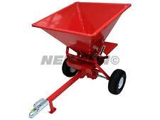Ecarteur 350 LB (environ 158.76 kg) Tow Derrière ATV pour Propagation Semences engrais Grit Sand 2921