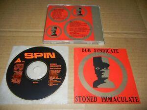 "Dub Syndicate ""Stoned Immaculate"" Japan CD ALCA-217 ON-U Adrian Sherwood"