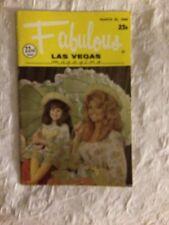 Fabulous Las Vegas Magazine Joan & Terry Lynn Shoofey Sidney Miller 3/22/1969