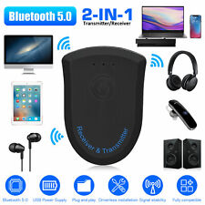3.5mm Bluetooth 5.0 Receiver Transmitter Wireless Adapter Audio Stereo For TV PC