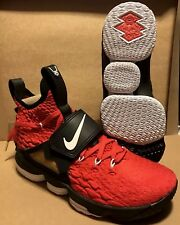 ec73ad61d8 NIKE LEBRON 15 RED DIAMOND TURF AO9144 600 SIZE 9.5 LIMITED