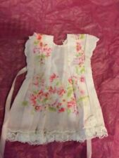 Hankie Couture White & Pink Flower Dress - Paris Handmade