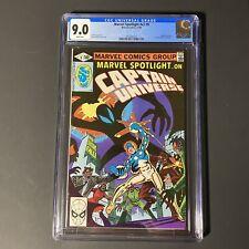 Marvel Spotlight v2 #9 CGC 9.0 1980 1st App of Mister E & 2nd Captain Universe