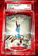 1995 SP MICHAEL JORDAN DIE-CUT GOLD SIG /1000 AUTO POP 1/1 PSA 9! NO 10's EXIST!