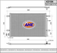 Condensatore AUDI A4 Avant (8ED,B7) 2.0 TDI 16V 103kw 04-08