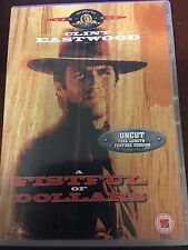 A Fistful of Dollars DVD with Clint Eastwood