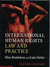 International Human Rights Law and Practice by Bantekas  ISBN 9781107562110