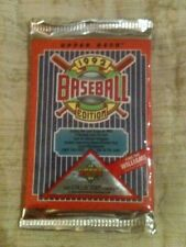 1992 UPPER DECK factory sealed & unsearched 15 CARD BB PACK