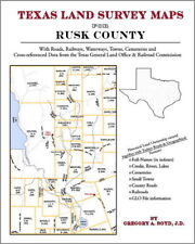 Rusk County Texas Land Survey Maps Genealogy History