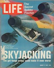 LIFE August 11,1972 Skyjacking / Tennis Everyone ? / Exodus from the USSR