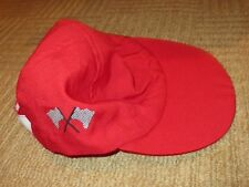ELC early learning centre role play fancy dress red cap car drivers adjustable