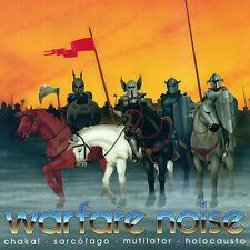 Warfare Noise Compilation 2x LP Orange Vinyl / Gatefold New (2013) Metal