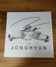 hand signed SHINEE Kim Jonghyun autographed Jonghyun album limited+signed photo