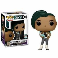 Funko Pop! Comics #13 Saga Alana w/ Baby Hazel Funko Specialty Series Exclusive