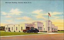 Municipal Building and Fire Department, Carolina Beach, NC. Linen.