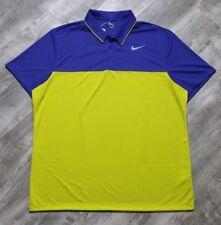 Nike Golf Icon Dri-Fit Polo Shirt Color Block Men's size Small Nwt