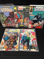DR. Strange Comic lot of 5 #8-#12 1989 Boarded/Bagged UNGRADED Faust Gambit