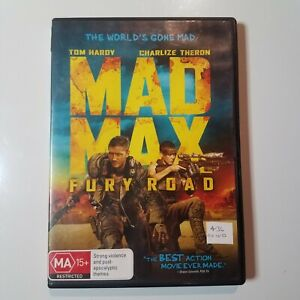Mad Max: Fury Road | DVD Movie | Charlize Theron, Tom Hardy | Action/Adventure