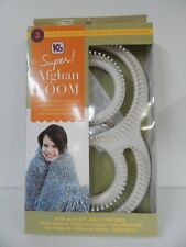 "New ListingKb Super Afghan Loom-Knit Up To 60"" Afghan In One Piece Knitting Board-New"