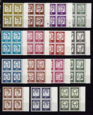 Berlin 1961 postfrisch Seitenrand rechts Bedeutende Deutsche MiNr. 199-213