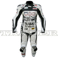 Petronas Yamaha Faces Men One Piece Motorbike Racing Leather Suit