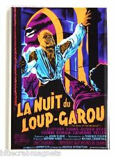 Curse of the Werewolf (France) FRIDGE MAGNET (2.5 x 3.5 inches) movie poster