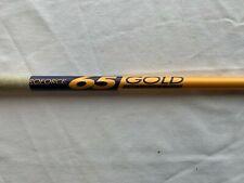 Pro Force 65 Gold Stiff Flex Golf Shaft Pull 42 5/8 .350