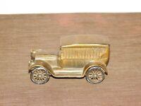 "VINTAGE 5 3/4"" LONG CATSKILL SAVINGS BANK 1917 PIERCE ARROW CAR METAL BANK"